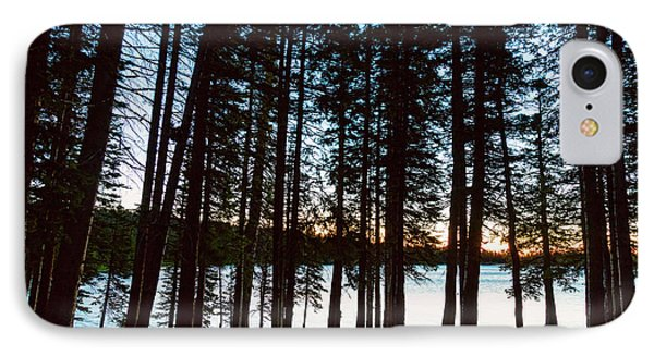 IPhone 7 Case featuring the photograph Mountain Forest Lake by James BO Insogna