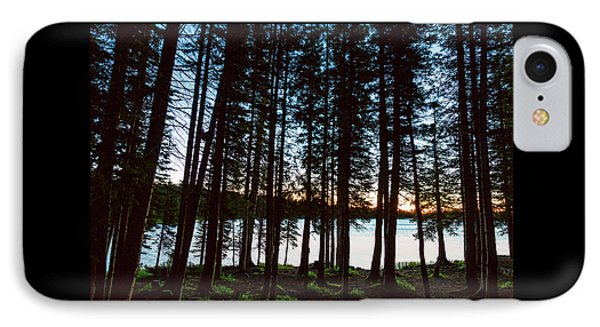 IPhone Case featuring the photograph Mountain Forest Lake by James BO Insogna
