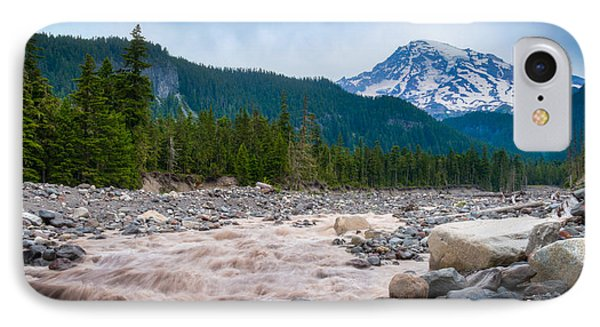 Mountain Glacier River IPhone Case by Chris McKenna