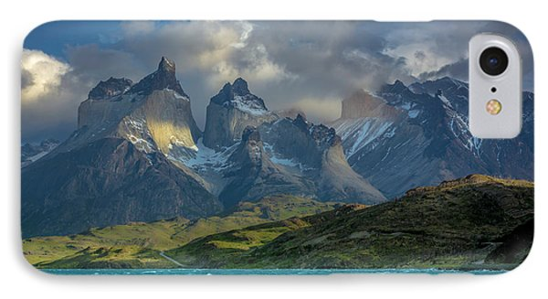 IPhone Case featuring the photograph Mountain Glimmer by Andrew Matwijec