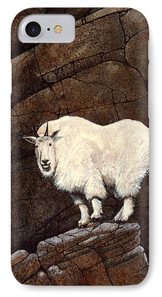 Mountain Goat Phone Case by Frank Wilson