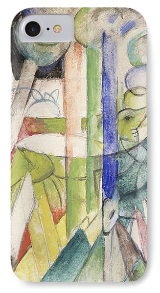 Mountain Goat IPhone Case by Franz Marc