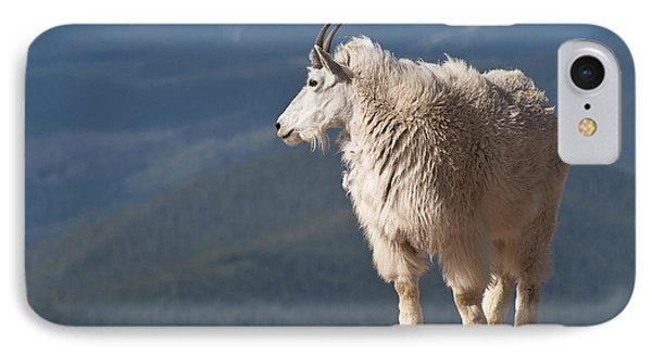 IPhone 7 Case featuring the photograph Mountain Goat by Gary Lengyel
