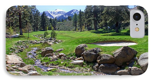 Mountain Golf Course Phone Case by Thomas Marchessault