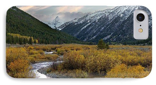 Mountain Grandeur IPhone Case by Leland D Howard
