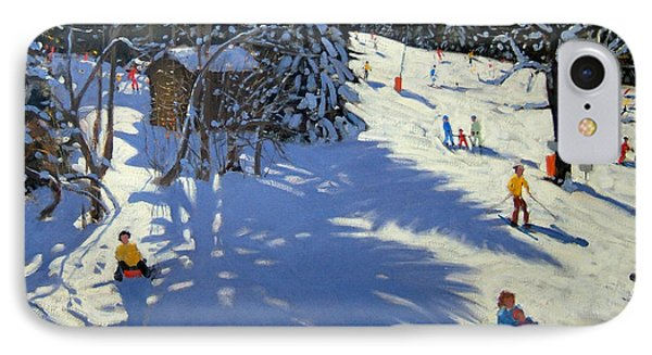 Mountain Hut IPhone Case by Andrew Macara