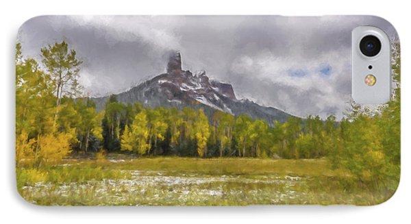 Mountain In The Meadow II IPhone Case