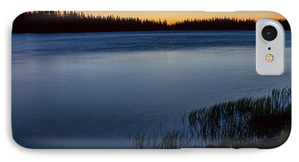 IPhone Case featuring the photograph Mountain Lake Glow by James BO Insogna