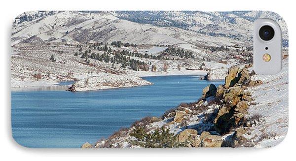 Mountain Lake In Winter Scenery IPhone Case by Marek Uliasz