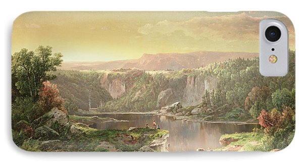 Mountain Lake Near Piedmont IPhone Case by William Sonntag