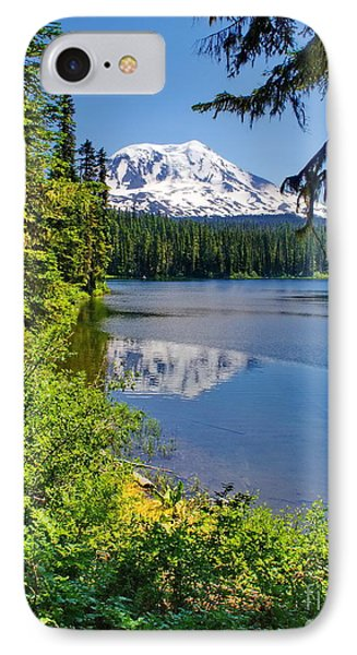 Mountain Lake Reflections IPhone Case by Ansel Price