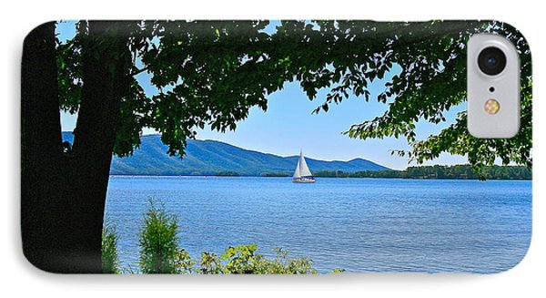 Smith Mountain Lake Sailor IPhone Case by The American Shutterbug Society