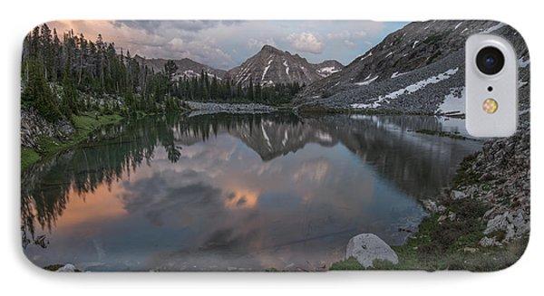 Mountain Lake Sunset IPhone Case