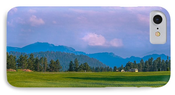 Mountain View In Black Hills  IPhone Case by Art Spectrum