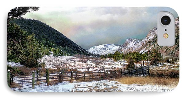 Mountain Meadow IPhone Case by Jim Hill