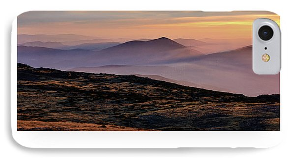 Mountain Mist Poster IPhone Case