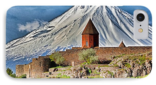 Mountain Monastery Phone Case by Dennis Cox WorldViews
