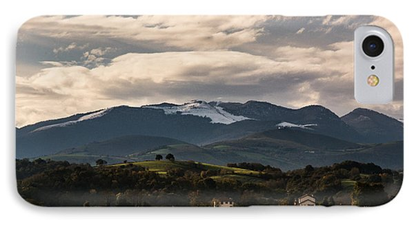 Mountain Of France IPhone Case by Francoise Dugourd-Caput