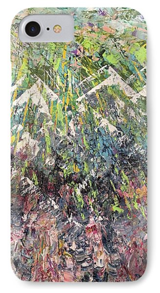 Mountain Of Many Colors IPhone Case by George Riney
