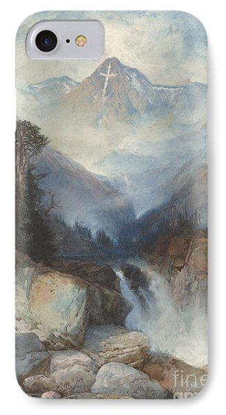 Mountain Of The Holy Cross IPhone Case by Thomas Moran