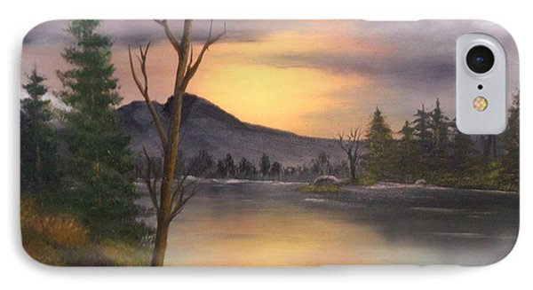 Mountain Paradise IPhone Case by Sheri Keith