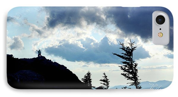 IPhone Case featuring the photograph Mountain Peak by Meta Gatschenberger
