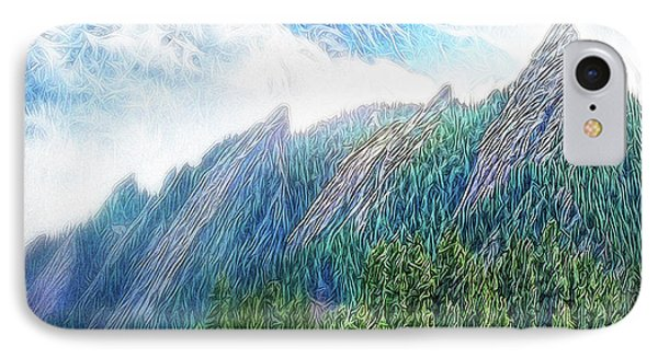 Mountain Pine Meadow IPhone Case