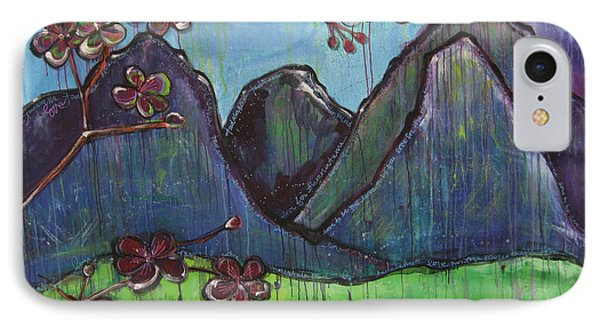 Mountain Pose Phone Case by Laurie Maves ART