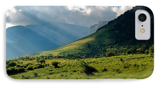 Mountain Rays Phone Case by Evgeni Dinev