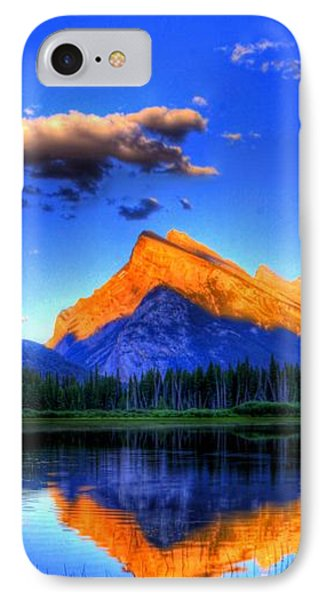 Mountain Reflection IPhone Case by Sean McDunn