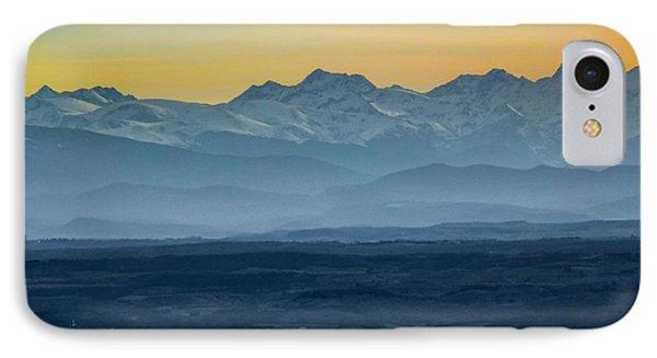 Mountain Scenery 12 Phone Case by Jean Bernard Roussilhe