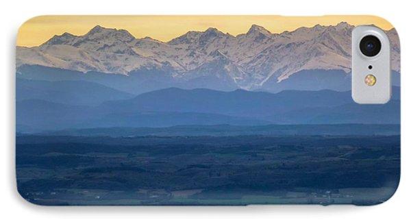 Mountain Scenery 15 Phone Case by Jean Bernard Roussilhe