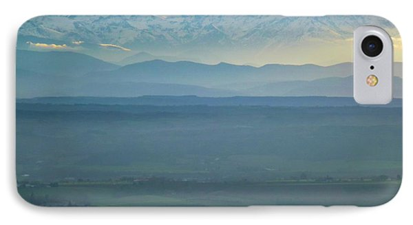 Mountain Scenery 18 IPhone Case by Jean Bernard Roussilhe