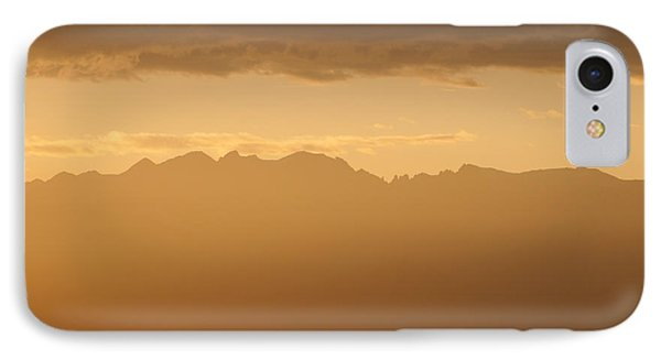 Mountain Shadows IPhone Case by Colleen Coccia