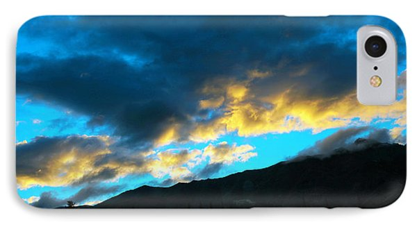 IPhone Case featuring the photograph Mountain Silhouette by Madeline Ellis
