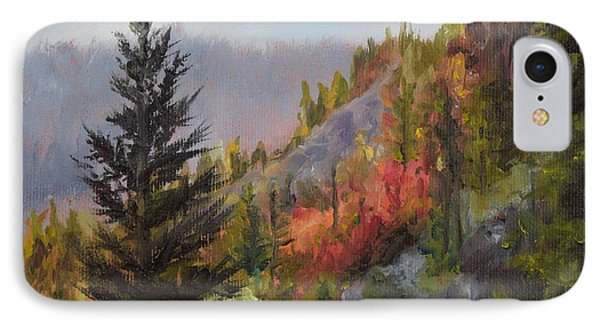 Mountain Slope Fall IPhone Case