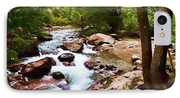 Mountain Stream Phone Case by Dan Dooley