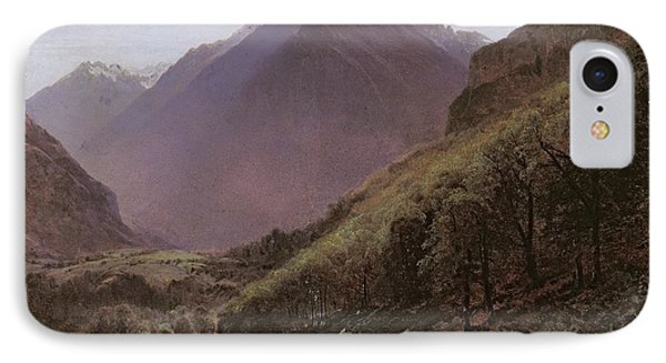 Mountain Study Phone Case by Alexandre Calame