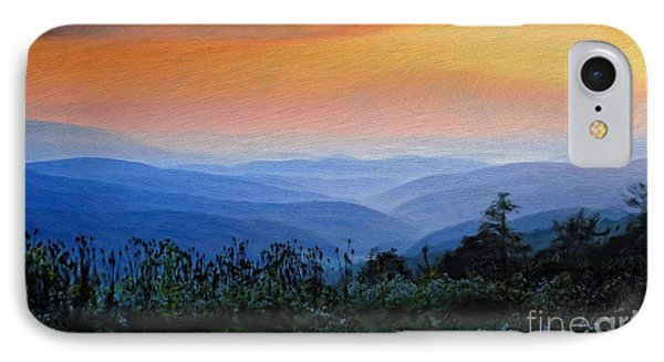 Mountain Sunrise IPhone Case by Lois Bryan