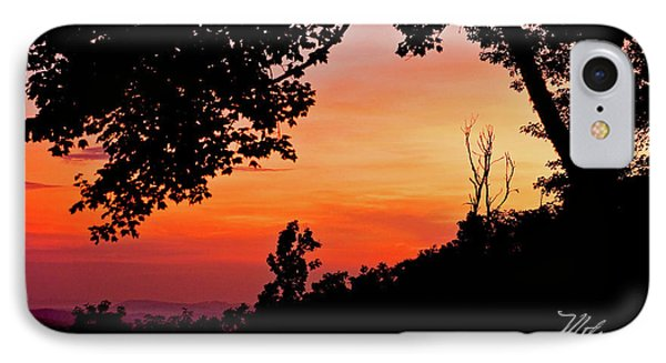 IPhone Case featuring the photograph Mountain Sunrise by Meta Gatschenberger