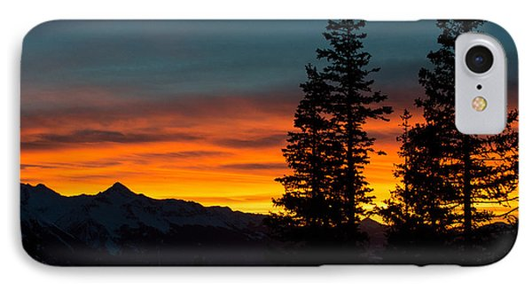 Mountain Sunset IPhone Case