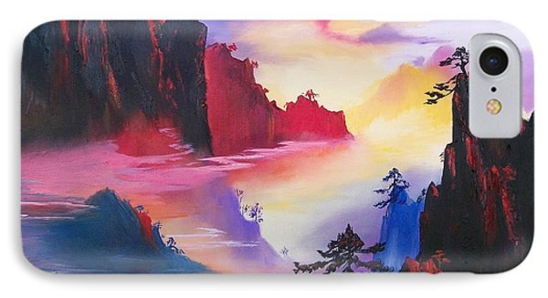 Mountain Top Sunrise IPhone Case