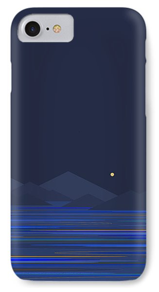 IPhone Case featuring the digital art Mountain Tops II by Val Arie