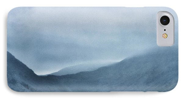 Mountain Tops Or Ocean Waves IPhone Case by Martin Newman