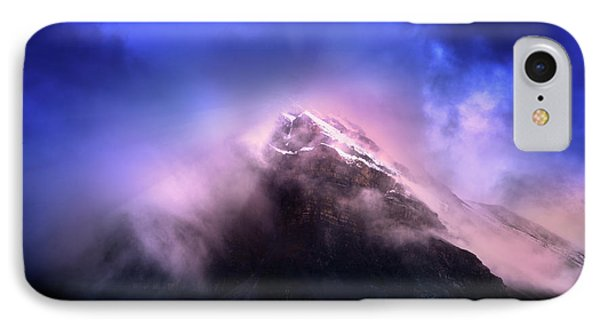 IPhone Case featuring the photograph Mountain Twilight by John Poon