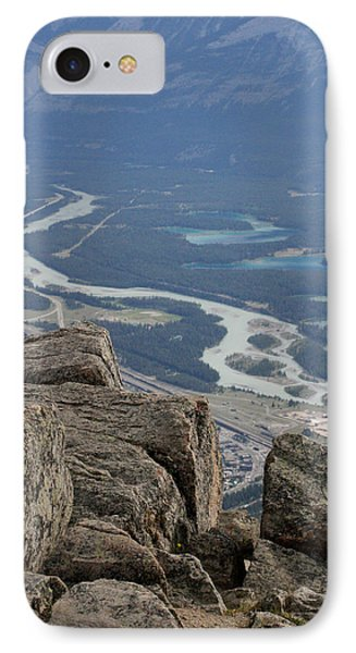 IPhone Case featuring the photograph Mountain View by Mary Mikawoz