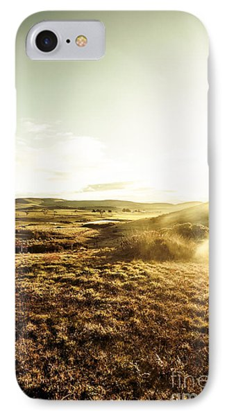 Mountain Views And Misty Sunlight IPhone Case