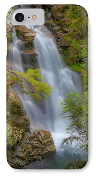 Mountain Waterfall 5613 IPhone Case by Chris McKenna