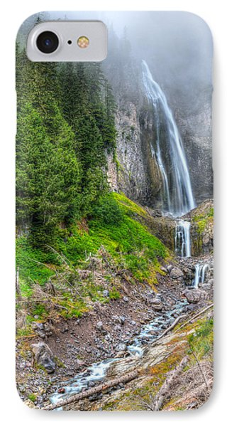 Mountain Waterfalls 5808 IPhone Case by Chris McKenna