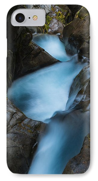 Mountain Waterfalls 5863 IPhone Case by Chris McKenna